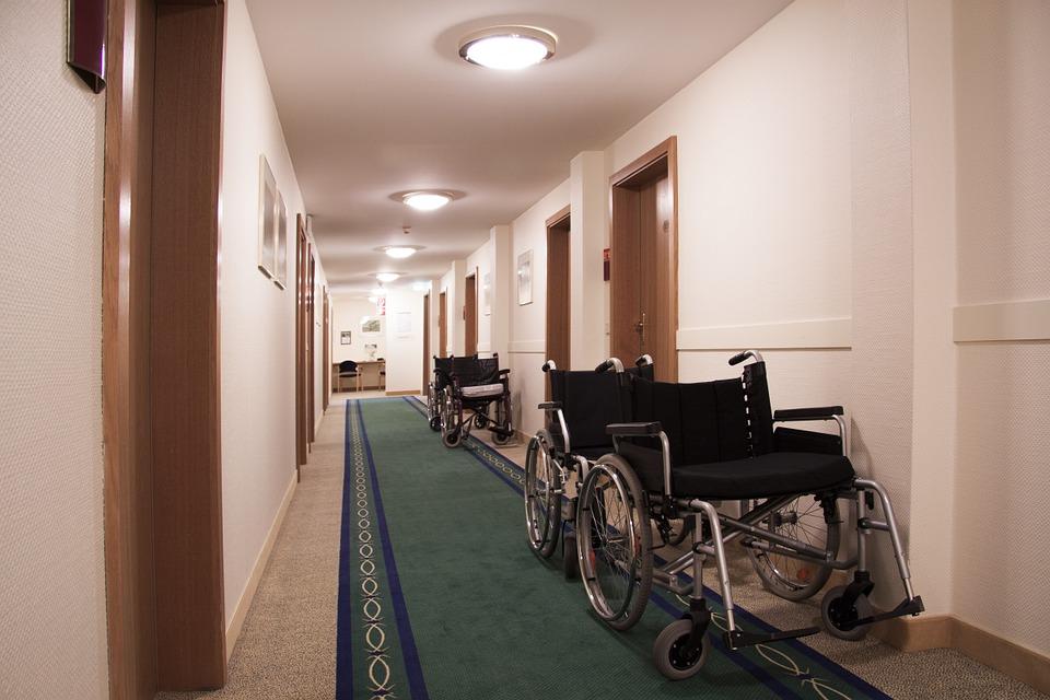 budynek dla niepełnosprawnych
